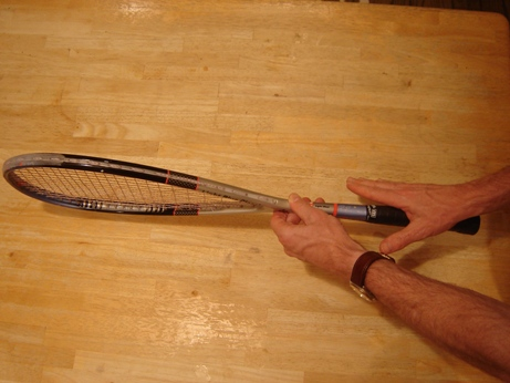 Squash Grip Right Handed